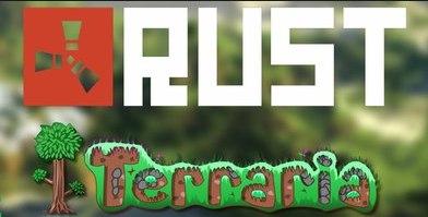 Rust +Terraria