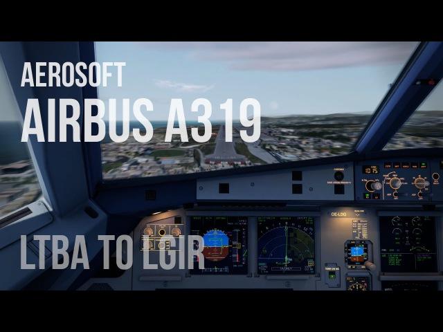 PREPAR3D v2 5 A319 LOWW LGIR Reshade