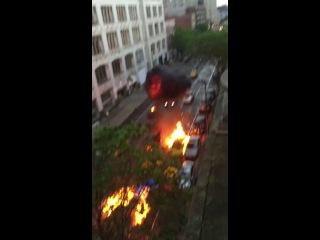 Fast & Furious 8 filming car crash scene