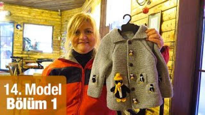 Örgü Penguen Ceketi Nasıl Örülür Detaylı Anlatım | 14. Model (15)