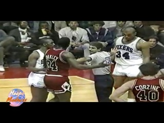 Charles BARKLEY vs Charles OAKLEY! 01.30.1987