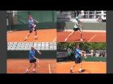 Теннис уроки. Нужно ли закрывать ракетку при контакте. 2 урок.
