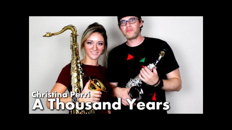 Christina Perri - A THOUSAND YEARS - Tenor Soprano Sax Cover - BriansThing Mandy Faddis