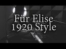 Fur Elise - 1920s Gangster Style (arr. Ethan Uslan) cover by Slava