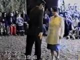 Дагестанская свадьба. Лихие 90г. Почти лезгинка..)