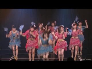 NMB48 Team BII Saka Agari LIVE (13 April 2016) (Watanabe Miyuki graduation announcement)