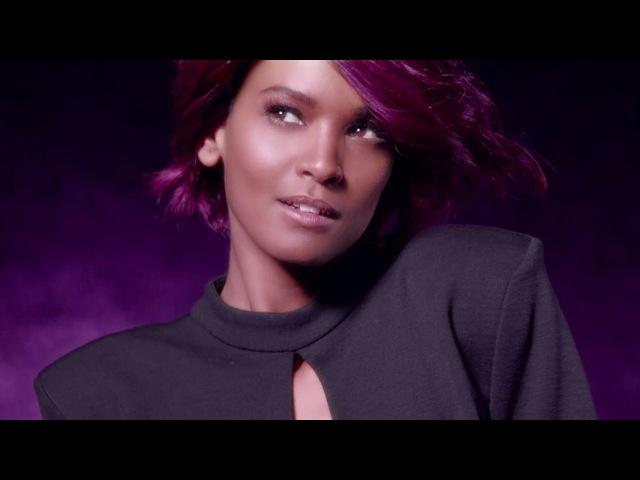 Vibrant Violet Hair Color | Féria Power Violet | L'Oreal