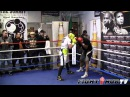 Saul Canelo Alvarez full sparring session prepares for Shane Mosley
