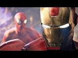 Spiderman, Iron Man Daredevil Cinematic Fight Battle - Marvel Avengers