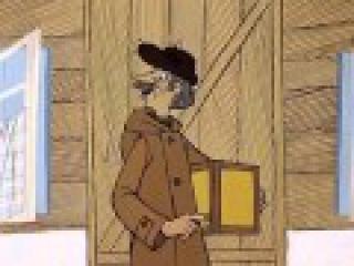 «Каникулы в Простоквашино» 1980 — 'Я вам посылку принёс  Только я вам её не отдам!   '