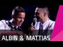 Albin Mattias Rik Se repet inför Andra chansen i Melodifestivalen 2016