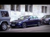 Remote Parking Pilot & Parking Pilot in the new E-Class - Mercedes-Benz original