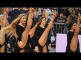 James Bond's 007 Zalgiris Kaunas cheerleaders!
