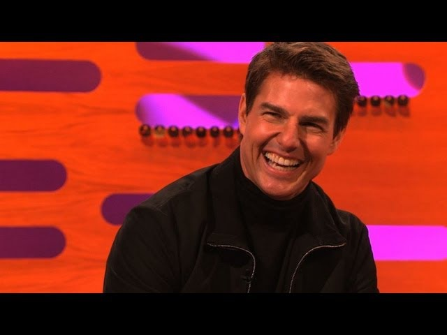 It's Tom Cruise! - The Graham Norton Show - New Year's Eve 2012 - BBC One