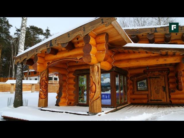 Традиции и необычные решения в строительстве. Баня «Сказка»