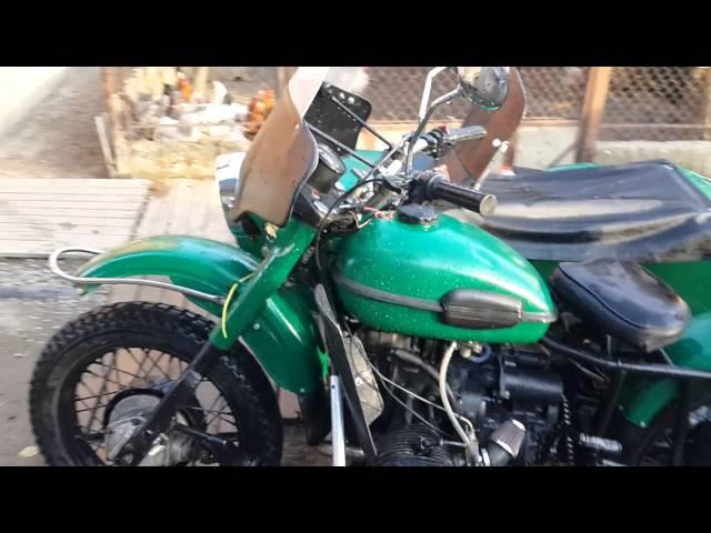 Полноприводный мотоцикл Урал
