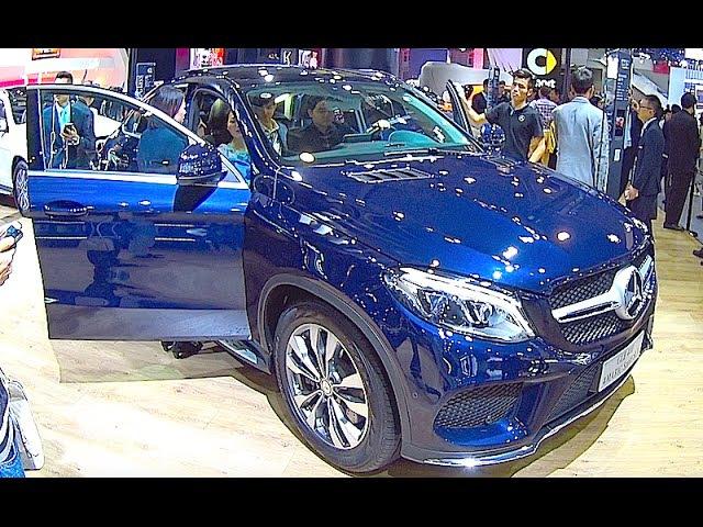 New Mercedes GLE 400 2016, 2017, 4matic sport SUV interior, exterior video