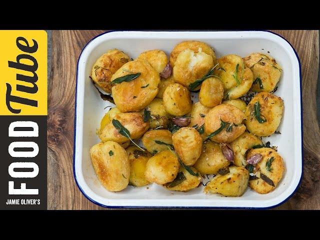 Roast Potatoes Three Ways   Jamie Oliver
