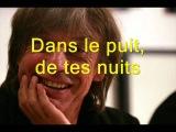 Puisses-tu - Jean-Louis AUBERT (paroles).wmv