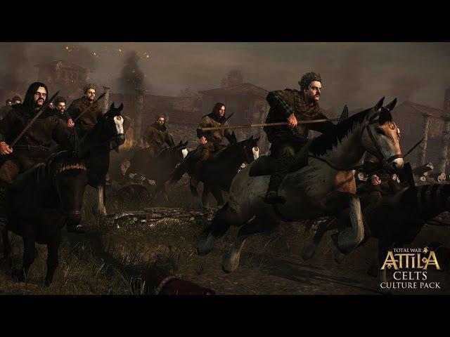 КЕЛЬТЫ - ОБОРВАНЦЫ) Total War: Attila совместное прохождение 21 (AGRESSIVE AI)
