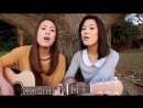 Девушки поют и играют на гитаре супер зацени
