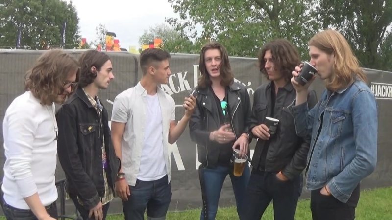 Blossoms - IOW 2016 Interview