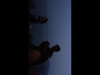 У костра на озере Тургояк