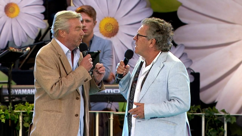 Peter Dalle och Tommy Körberg-Konspirationsteorin.(Lotta På Liseberg 01.08.2016)