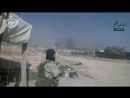 GoPro ground assault footage from Islamist fighters of Jabhat al Fatah