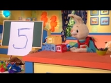 Counting numbers 123 - Learn to count to five with Harry The Bunny - Babyfirst