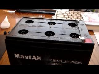 Восстановление аккумуляторов типа 12В 12 Ач - Обзор
