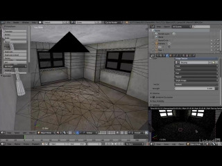 Blender: Интерьерная окружающая среда для игр