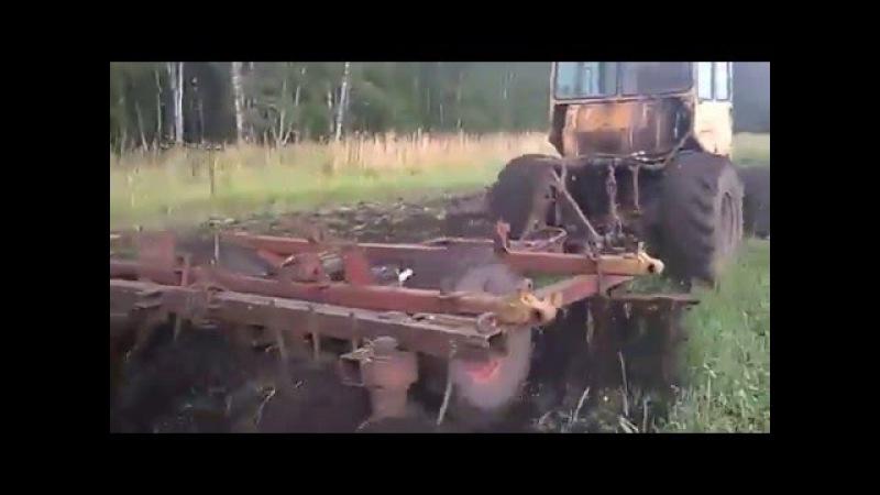 Дт 75 на колесах с БДТ