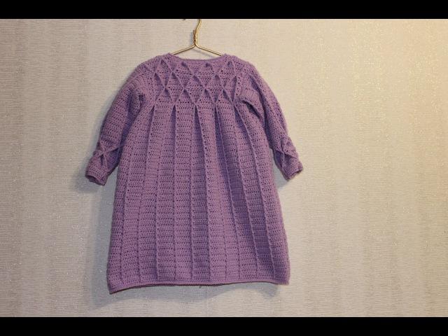 Пальто с буфами на девочку 3-4 года. Часть 2/2 (рукава, буфы, сборка, обвязка).