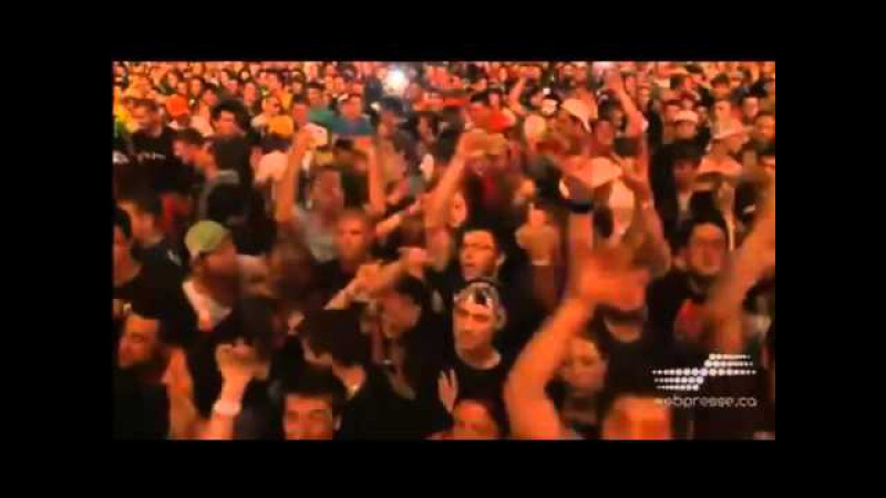 Hollywood Undead Tendencies Live @ Woodstock en Beauce 2012