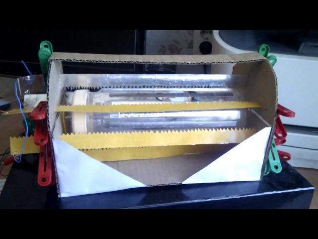 Электростатический двигатель (цилиндр)