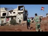 The Syrian army launched Heavy an offensive to the southern borders