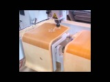 Wood Chair CNC Router Cutting Machine With Dual Heads From CHINA