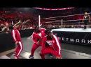 Зе Рок и Братья Усо побили Новый День Raw 25 Января,2016