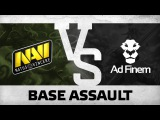 WATCH FIRST: Base assault by Na`Vi vs Ad Finem @ The Summit 5