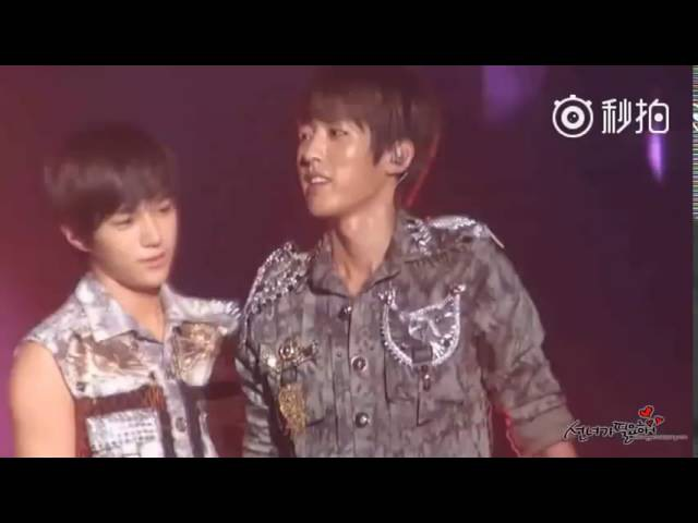 Myungyeol stripping and backhugging Momment