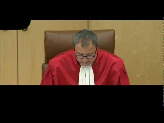 Bundesverfassungsgericht - 25.07.2012 Entscheidung zum neuen Wahlrecht