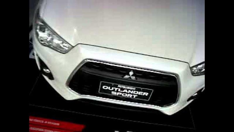 Mitsubishi Outlander Sport GLX Warna Putih Tampak Atas