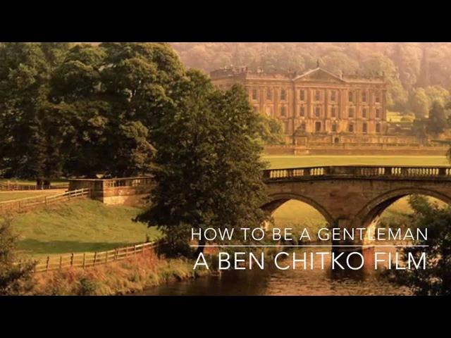 How to be a Gentleman (Regency Era Edition)