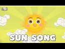 The Sun Song Sun Song for children The Sun Song Science elearnin