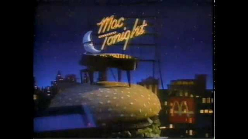 Mac Tonight Commercial