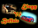 GTA SAMP - Elegy drift vs Buffalo drift Q-team
