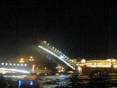 Развод Троицкого моста в Питере