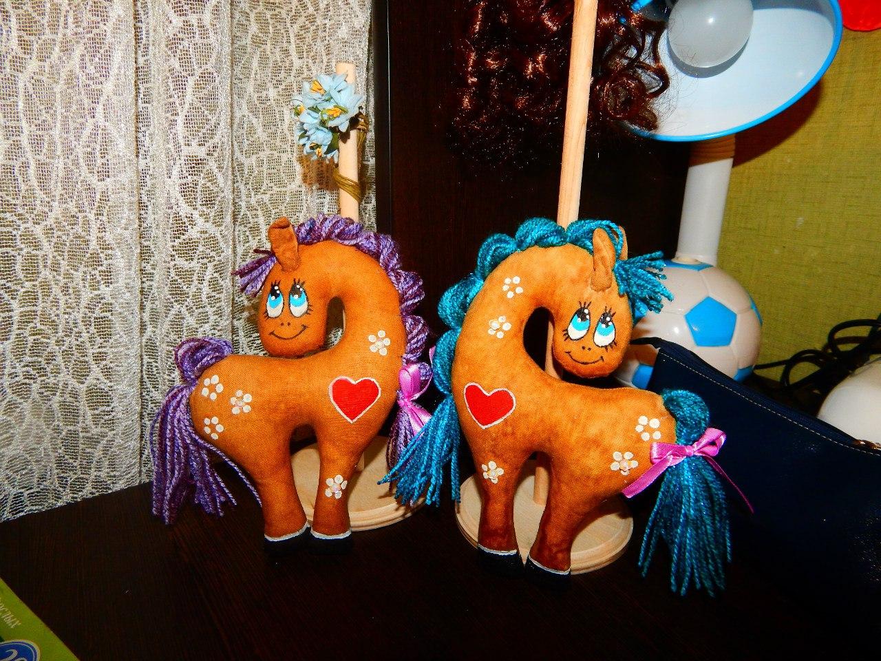 Ароматизированные пряничные лошадки( на заказ)