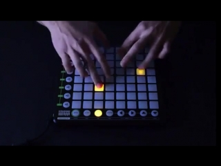 Дабстеп на Novation Launchpad (6 sec)